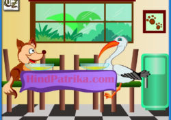 fox-and-stork-hindi-moral-stories-for-kids