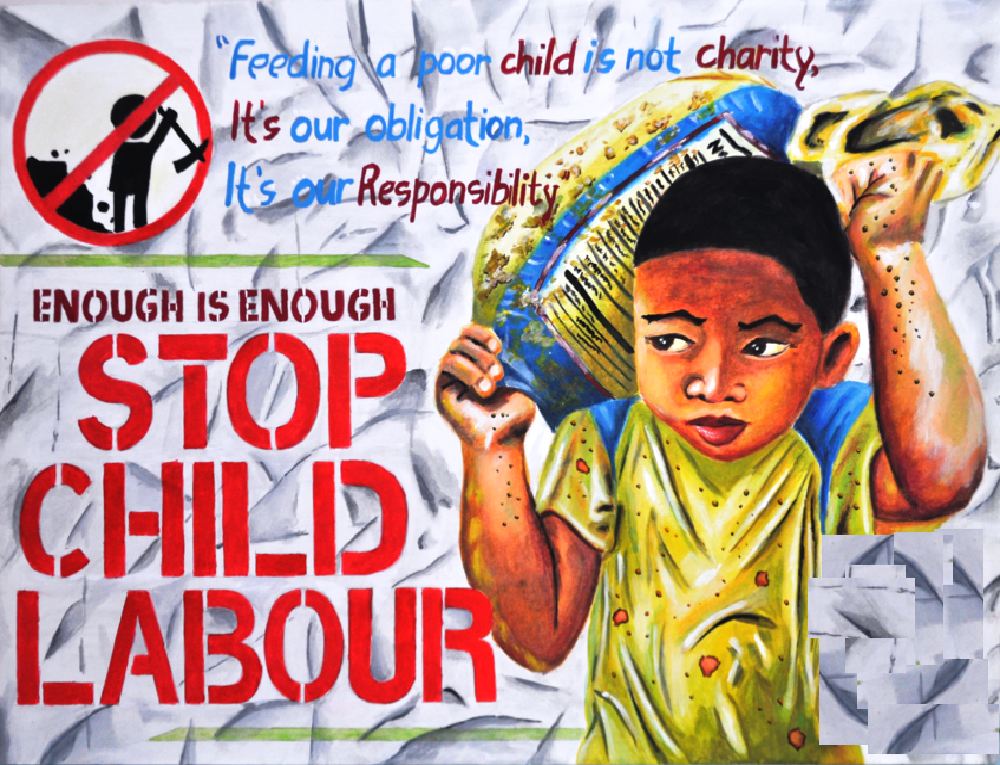 eradicate child labour for a better and brighter future eradicate child labour for a better and brighter future mandarmani beach rd mandarmani west bengal 721461