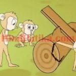 पंचतंत्र की कहानियाँ – बंदर और खूँटा