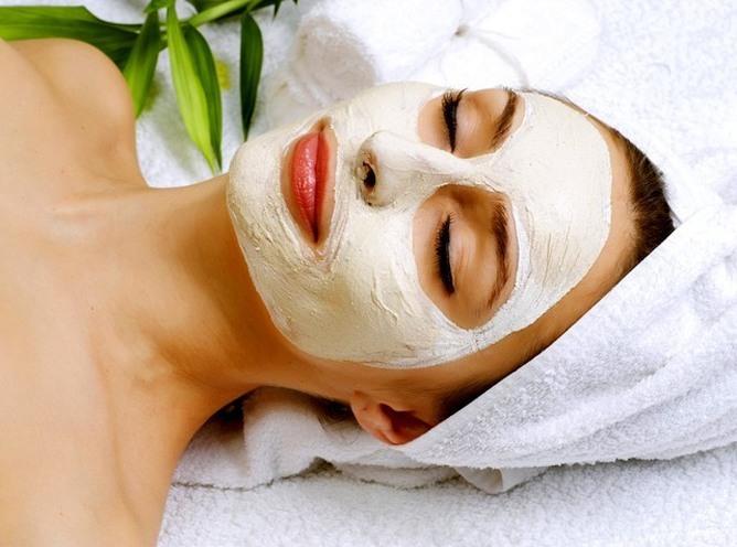 Jasmine flower face mask