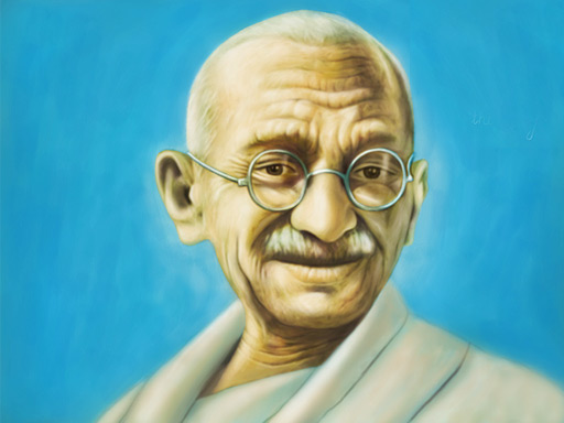 About Mahatma Gandhi in Hindi