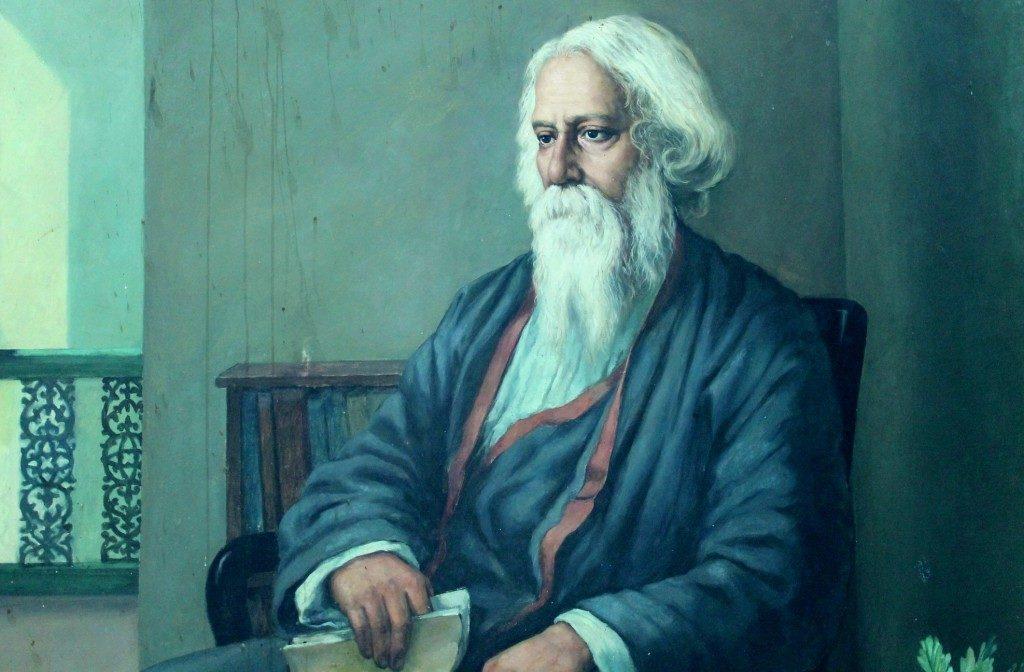 Rabindranath Tagore A Great Soul in Hindi