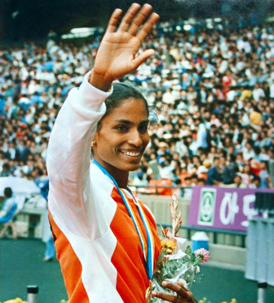 P. T. Usha in Hindi