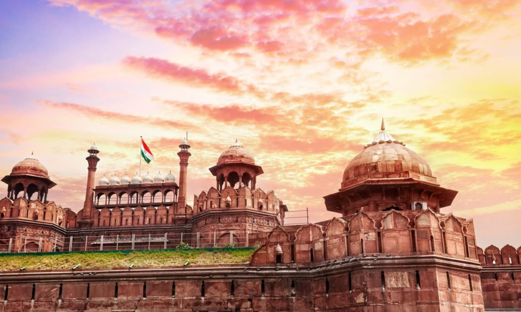 Red Fort in Hindi