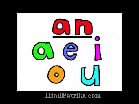Difference Between a and an in hindi