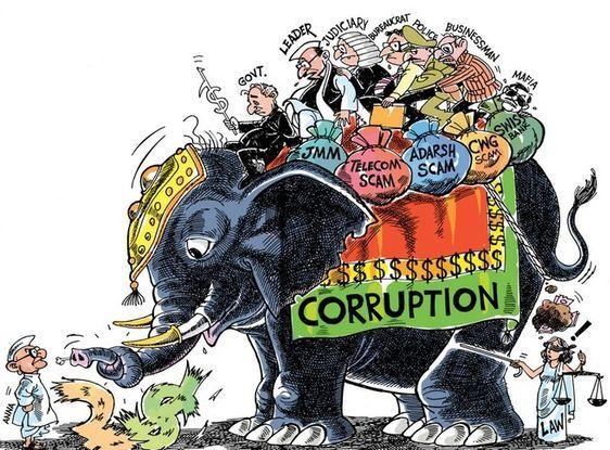 Slogans on Corruption in Hindi