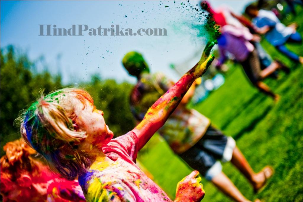 Festival of Holi in Hindi