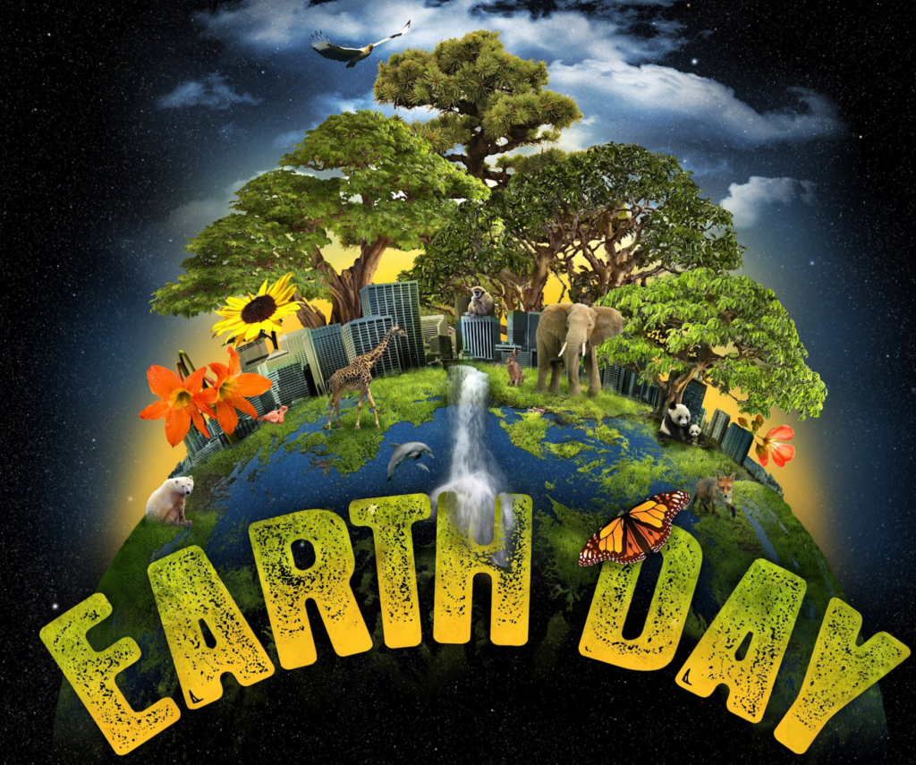 Earth Day Essay in Hindi