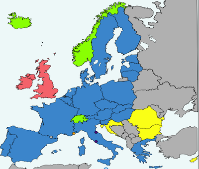 norway not a part of europen union