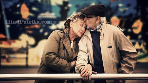Old Couples in So Much Love