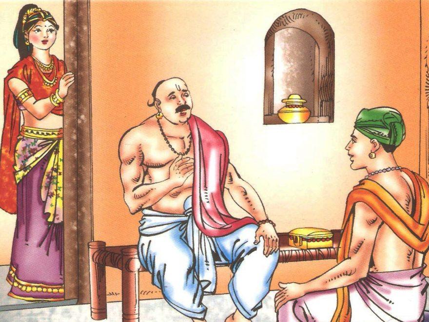 विष्णु द्वारा लक्ष्मी की खोज