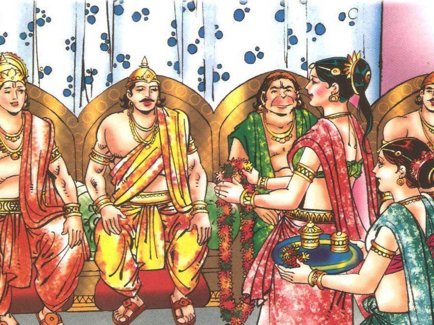 विष्णु द्वारा नारद को वानर का चेहरा देना