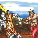 भस्मासुर से शिव की रक्षा
