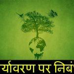 पर्यावरण पर निबंध