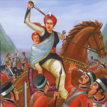 rani laxmibai against britishers